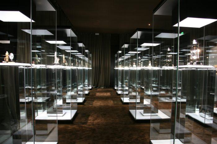 Time Art Taipei Ensemble de grandes vitrines vitrées toute hauteur